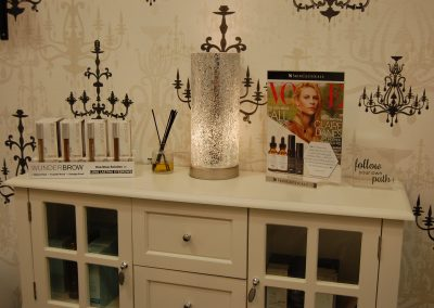 San Diego Interior Designer and Color Consultant | Anna Rodé Designs | La Jolla Brow and Beauty Spa Suite
