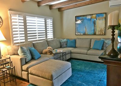 San Diego Interior Designer and Color Consultant | Anna Rodé Designs | La Jolla Beach Home Update Living Room