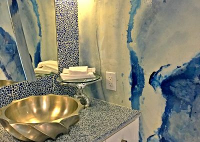 San Diego Interior Designer and Color Consultant | Anna Rodé Designs | La Jolla Beach Home Remodel Bathroom