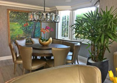 San Diego Interior Designer and Color Consultant | Anna Rodé Designs | La Jolla Beach Home Remodel Dining Room