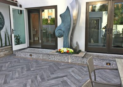 San Diego Interior Designer and Color Consultant | Anna Rodé Designs | La Jolla Beach Home Remodel Outdoor Living Space Patio