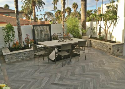 San Diego Interior Designer and Color Consultant | Anna Rodé Designs | La Jolla Beach Home Remodel Outdoor Living Space