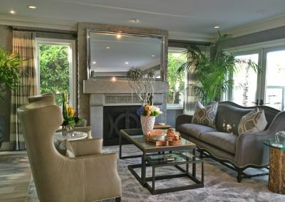 San Diego Interior Designer and Color Consultant | Anna Rodé Designs | La Jolla Beach Home Remodel Living Room