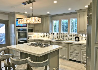 San Diego Interior Designer and Color Consultant | Anna Rodé Designs | La Jolla Beach Home Remodel Kitchen