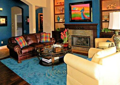 San Diego Interior Designer and Color Consultant | Anna Rodé Designs | Colorful Scripps Ranch Home