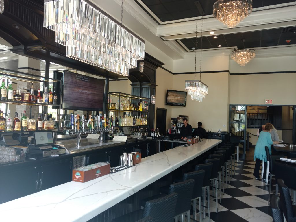 Art Deco Design in New San Diego Restaurant | Anna Rodé Designs