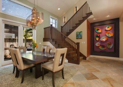 San Diego Interior Designer and Color Consultant | Anna Rodé Designs | Encinitas Home Renovation Dining Room