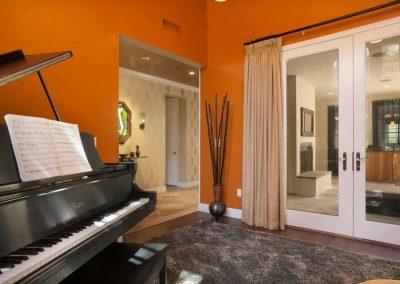San Diego Interior Designer and Color Consultant | Anna Rodé Designs | Encinitas Home Renovation Music Room
