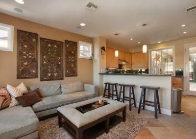 San Diego Interior Designer and Color Consultant | Anna Rodé Designs | Encinitas Home Renovation Living Room