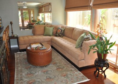 San Diego Interior Designer and Color Consultant | Anna Rodé Designs | San Diego Sun Room Living Room