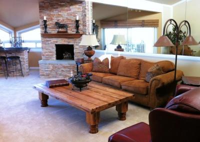 San Diego Interior Designer and Color Consultant | Anna Rodé Designs | Condo at the Beach Living Room