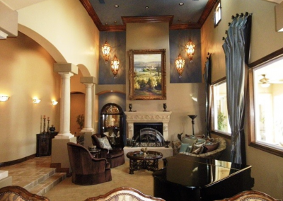 San Diego Interior Designer and Color Consultant | Anna Rodé Designs | Old World Estate