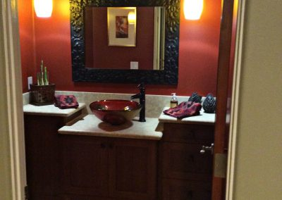 Powder Room in Del Mar