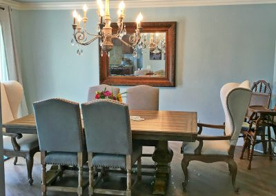 San Diego Interior Designer and Color Consultant | Anna Rodé Designs | Scripps Ranch Dining Room