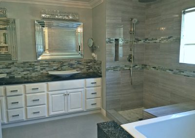 San Diego Interior Designer and Color Consultant | Anna Rodé Designs | Master Bathroom Remodel