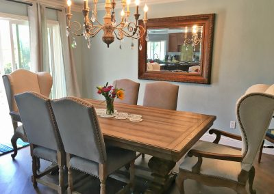 San Diego Interior Designer and Color Consultant | Anna Rodé Designs | Dining Room Remodel