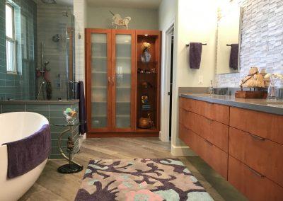 Minimalist Master Bathroom