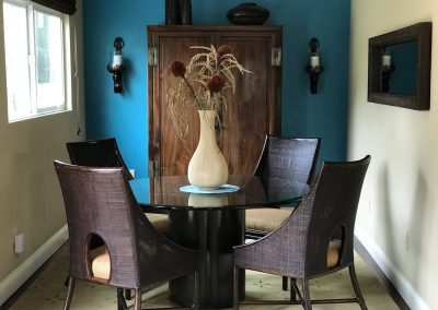 San Diego Interior Designer and Color Consultant | Anna Rodé Designs | La Jolla Home Update Dining Room