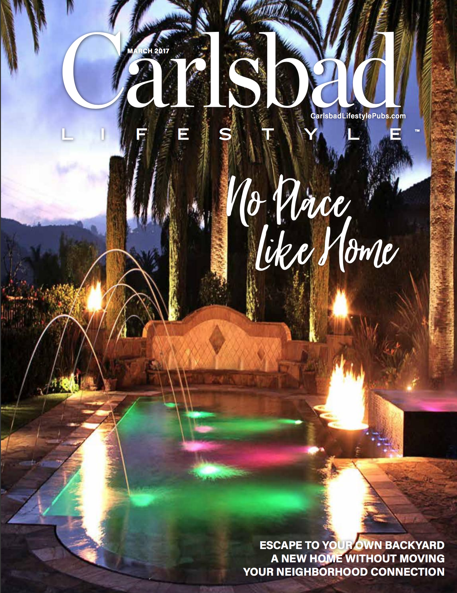 San Diego Interior Designer and Color Consultant | Anna Rodé Designs | Carlsbad Lifestyle Magazine Cover March 2017