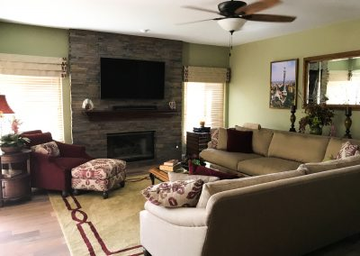 San Diego Interior Designer and Color Consultant | Bonita Living Room and Dining Room