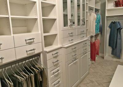 San Diego Interior Designer and Color Consultant | Custom Designed Walk-In Closet