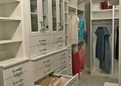 Custom Designed Walk-In Closet