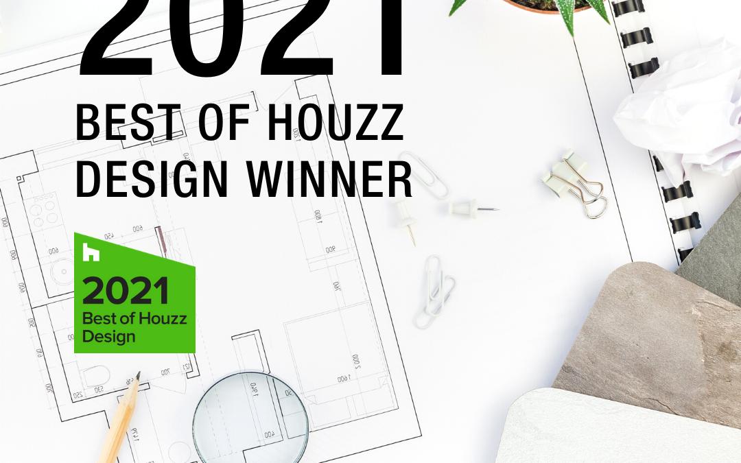 Best of Houzz Award Winner For Design 2021