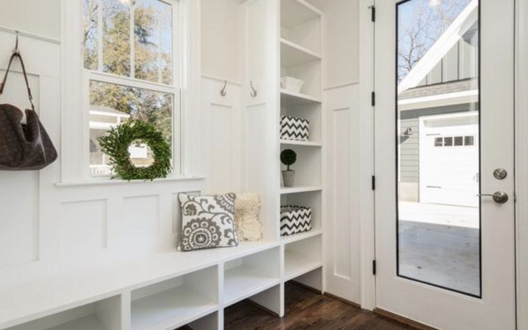 Style, Welcoming Ambience, Functionality: Entryway & Mudroom Upgrades for Your Home
